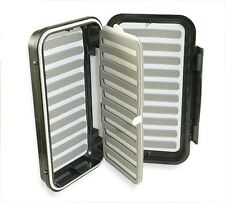Caimore 'Click-Lock' Swing Leaf Fly Box - Small & Med. Flies - Choice Of Colour