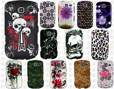 For Samsung Freeform 4 R390 Rubberized HARD Case Snap On Phone Cover Accessory