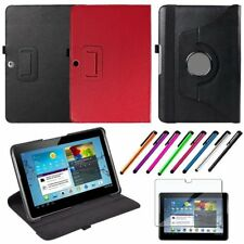 HQ Leather Case Cover for Samsung Galaxy Tab 2 10.1 P5100 P5110+LCD Film Pen