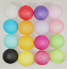 6'' 8'' 12'' Multi-Color paper Lanterns Lamp for Home Party Wedding Decorations