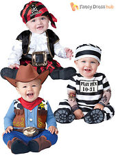 Boys Girls Baby Fancy Dress Up Pirate Prisoner Costume Infant 6 12 18 24 Months