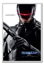 Framed Robocop 2014 Teaser Poster Ready To Hang - Choice Of Frame Colours