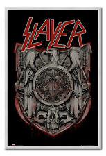 Framed Slayer Eagle Poster Ready To Hang - Choice Of Frame Colours