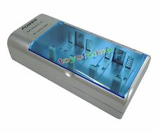 PP3 9v AA AAA C D Size Battery Univeral Multi Charger