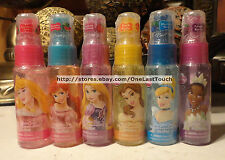 DISNEY PRINCESS* Scented Body Glitter/Shimmer Spray *YOU CHOOSE* Various Scents