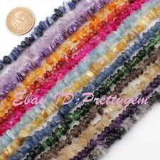 4x6-5x9mm Natural Freeform:Agate, Amethyst,Fluorite Gemstone Beads Strand 15""