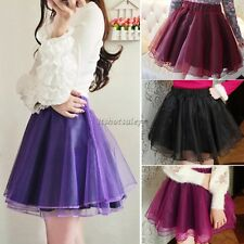 Women Tiered Layered Fancy Tutu Petticoat Pettiskirt Mini Skirt Dress Fashion
