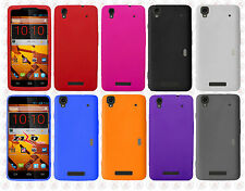 Boost Mobile ZTE Boost Max Rubber SILICONE Skin Soft Gel Case Cover Accessory