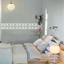 ANTIQUE FLOWER BORDERS Eco-Friendly WALL WINDOW ACCENTS GRAPHIC STICKERS DECALS