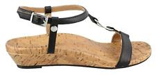 Vionic Martinique  Leather Womens Sandal Low Heel Shoes Low Heel