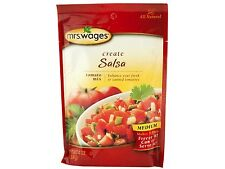Mrs Wages Create Tomato Mix - Hot Salsa Ketchup Pizza Pasta Sauce Chili Canning