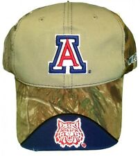 New! Univ. of Arizona Wildcats Adjustable Buckle Back Hat Embroidered Camo Cap
