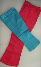 Girls flared jeans vintage 1960s UNUSED childrens Age 4 6 8 10 13 years HIPPIE