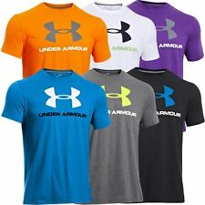 2014 Under Armour Sportstyle Logo Charged Cotton Mens T-Shirt