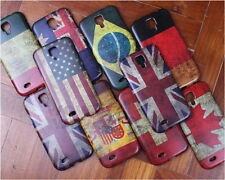 Classical Retro Multi National Flag Hard Case Cover For Samsung Galaxy S4 i9500