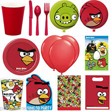 Angry Birds Birthday Party Supplies Tableware Decorations In One Listing PS
