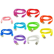 3ft Color Micro USB Data Sync Cable Cord for Cell Phones