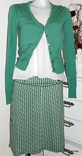 King Louie Retro Rock Front Skirt Tilly grün green M und L, 38 40