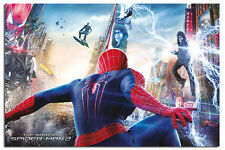 Spiderman 2 Battle Attack Poster New - Laminated Available