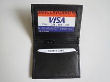 New Men's Genuine Leather Bifold ID Credit Card Money Holder Wallet.