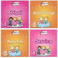 NURSERY RHYME MUSIC & LEARNING CDS PERSONALISED SONGS & STORIES WITH GIRLS NAMES