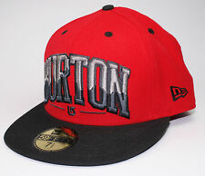 Burton BAM New Era 59Fifty Fitted Hat Cap 7 1/2