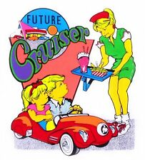 FUTURE CRUISER TWO KIDS IN A STUDEBAKER PEDAL CAR HOP T-SHIRT KS4