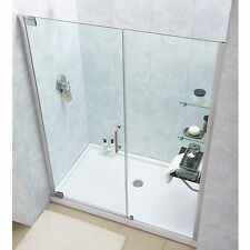 DreamLine Elegance Pivot Shower Door and 32x60-inch Shower Base