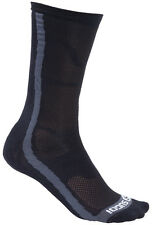 RS Crew Cycling Socks in Black by Sugoi