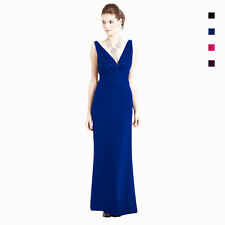 V-Neck Sleeveless Beaded Formal Cocktail Party Dress Evening Gown ed2788