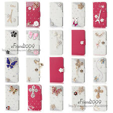 2014 Hot Sell New Style Bling Diamond Wallet PU Leather Case For Motorola Moto G