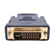 DVI DVI-I (24+5 pin) Male to HDMI Standard Female Adapter HDTV lot wholesale