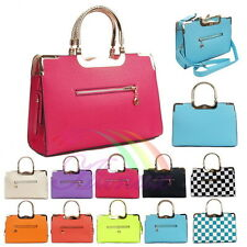 Candy Color Women Graceful Vintage Crossbody Hand bag Shoulder Messenger Totes