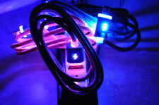 FLASH BRAID LED light-up data sync charger charge cable MICRO USB galaxy s3 s4