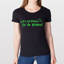 LIFES PAINLESS Wicked Witch Wizard of OZ broadway t WOMENS T-shirt BLACK DT0198