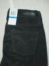 Calvin Klein Ultimate Skinny Stretch Corduroy Gray Jeans Womens Size 6 X 32 New
