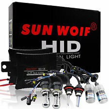 35W/55W High/Low HID Bi-Xenon Slim Conversion Kit Fog Lights Headlight Dual Beam