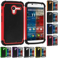 For Motorola Moto X Hybrid Heavy Duty Rugged Shockproof Matte Cover Case