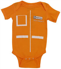 Portal 2 Video Game Aperture Labs Test Subject Baby Creeper Romper Snapsuit