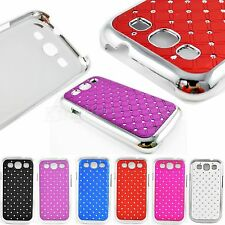 Crystal Bling Hard Protective Phone Case Cover For Samsung Galaxy S3 S III i9300