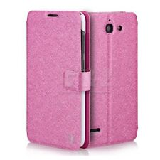 4 Colors Wallet Flip Leather Case + Screen Film For Huawei Ascend G730 a
