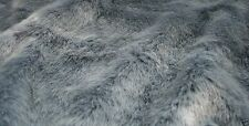 Super Luxury Faux Fur Fabric Material - SWISS BABY BLUE