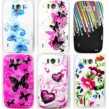 Cute Flower Soft Rubber Silicone Gel Case Cover For HTC sensation XL X315e G21