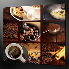 COFFEE BEANS PREMIUM CANVAS PRINT PICTURE WALL ART MANY SIZES FREE UK P&P