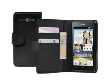WALLET Leather Flip Case Cover Pouch for Mobile Phone Huawei Ascend Y530