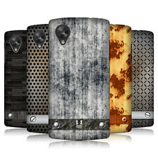 HEAD CASE INDUSTRIAL TEXTURES HARD BACK CASE COVER FOR LG GOOGLE NEXUS 5 D821