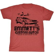 Back To The Future Movie Emmett's Adult T-Shirt Tee