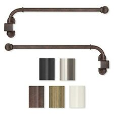 Swing Arm 14 to 24-inch Adjustable Curtain Rod