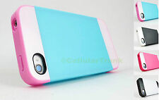 for Apple IPhone 4/4S +PryTool MCASE Multi Tone Hybrid Skin Case Cover Accessory