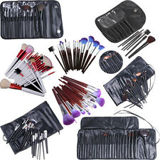 Pink/Purple/Black Multi Choice Makeup Comestic Brushes Tool Set with Pouch Bag
